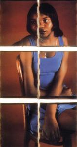 Laneisha II, 1996. Dawoud Bey (b. 1953). Polacolor ER prints, 90 x 45 3/4 in. New Britain Museum of American Art, Members Purchase Fund, 2000.34.