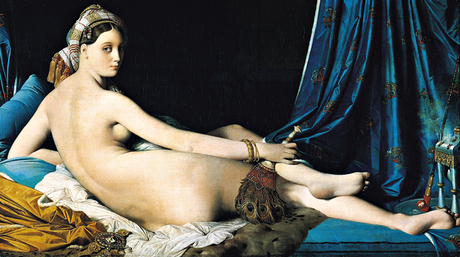 La Grande Odalisque by Ingres … 'a depraved engine of delight'.