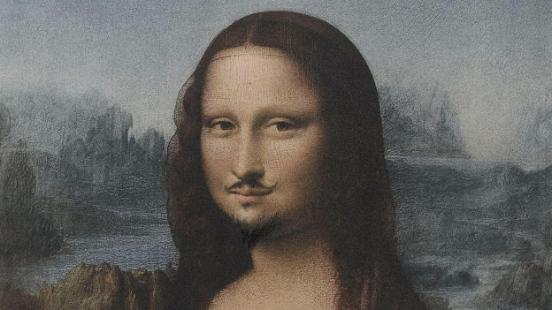 mona-lisa-with-a-moustache