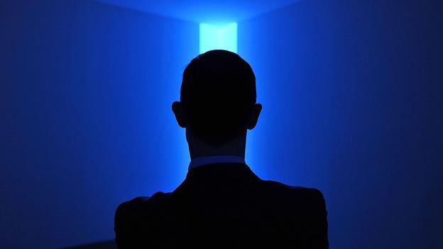 The work of James Turrell plays on subtle changes in light that the viewer can only perceive over long periods (Harold Cunningham/Getty Images)
