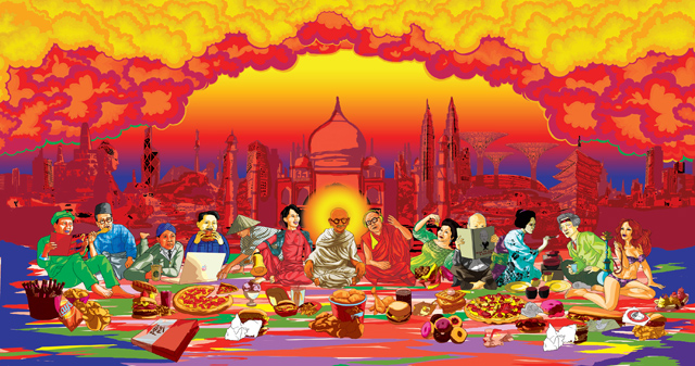 Ketna Patel - the last asian supper