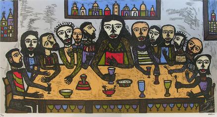 Madhvi Parekh's The Last Supper: A Portrait of an Icon, After Leonardo - Annapurna Garimella
