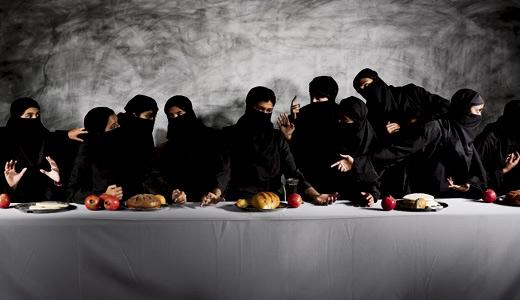 Vivek Vilasini - Last Supper gaza