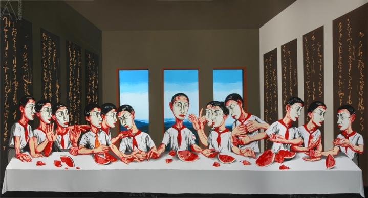 Zeng Fanzhi - Last Supper