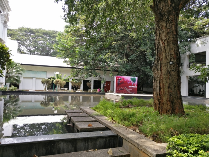 A gorgeous venue, beautiful art, and great people .. all in all, a FABULOUS week at the NGMA,Bengaluru!