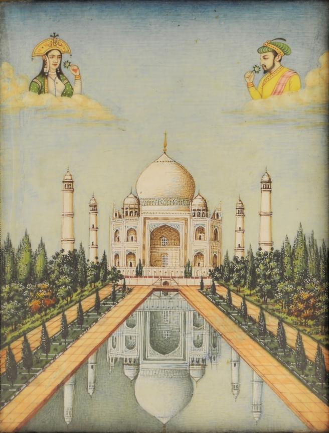 Untitled (Taj Mahal). Unknown Artist. Mixed Media.